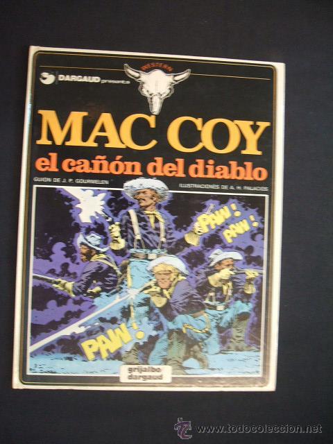 MAC COY - EL CAÑON DEL DIABLO - Nº 9 - EDIC. JUNIOR - GRIJALBO - (Tebeos y Comics - Grijalbo - Mac Coy)