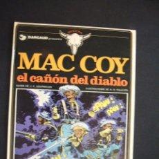 Cómics: MAC COY - EL CAÑON DEL DIABLO - Nº 9 - EDIC. JUNIOR - GRIJALBO - . Lote 28434072
