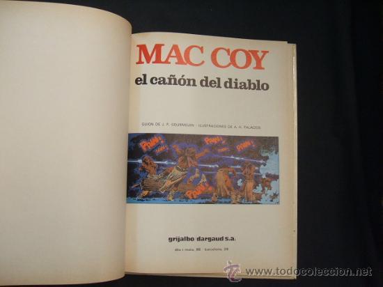 Cómics: MAC COY - EL CAÑON DEL DIABLO - Nº 9 - EDIC. JUNIOR - GRIJALBO - - Foto 3 - 28434072