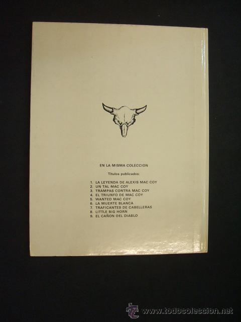 Cómics: MAC COY - EL CAÑON DEL DIABLO - Nº 9 - EDIC. JUNIOR - GRIJALBO - - Foto 11 - 28434072