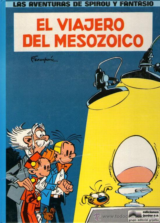SPIROU Y FANTASIO - Nº 11 - EL VIAJERO DEL MESOZOICO - ED. GRIJALBO 1983 - TAPA DURA - COMO NUEVO. (Tebeos y Comics - Grijalbo - Spirou)