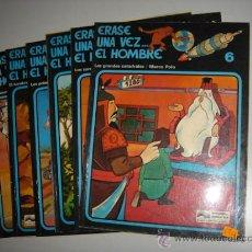 Cómics - ERASE UNA VEZ...EL HOMBRE Nº1,2,3,4,5 y 6 ediciones JUNIOR 1979. - 28672664