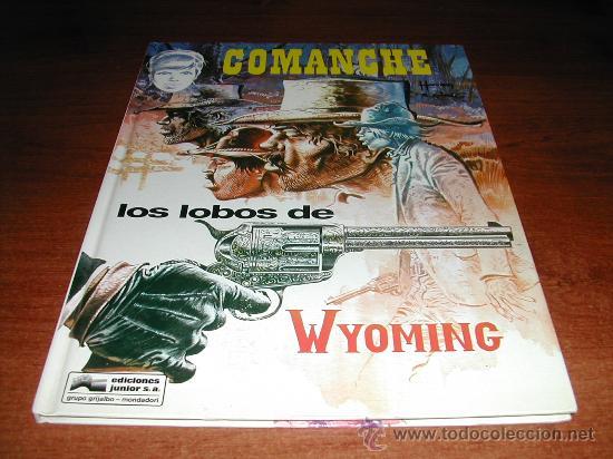 COMANCHE Nº 3 LOS LOBOS DE WYOMING (HERMANN GREG) ED. JUNIOR. REF: (JC) (Tebeos y Comics - Grijalbo - Comanche)