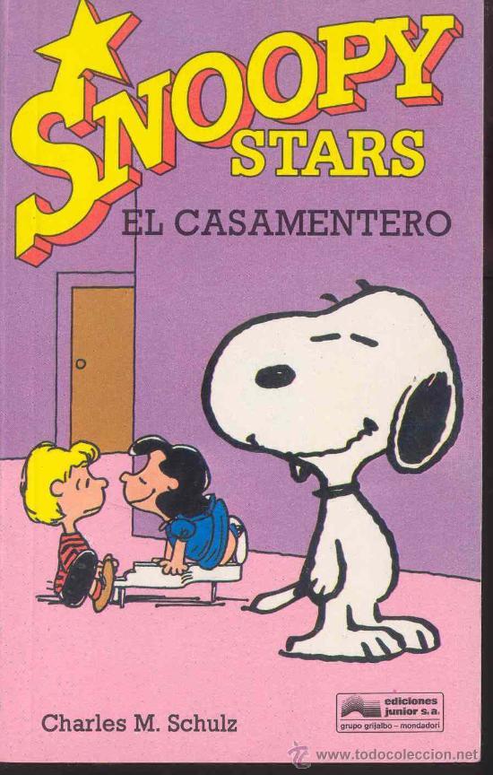 SNOOPY STARS Nº 2 - EL CASAMENTERO POR CARLES M. SCHULZ, EDICIONES JUNIOR 1990 (Tebeos y Comics - Grijalbo - Otros)