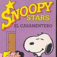 Cómics: SNOOPY STARS Nº 2 - EL CASAMENTERO POR CARLES M. SCHULZ, EDICIONES JUNIOR 1990. Lote 28758506