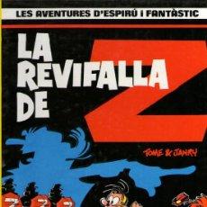 Cómics: SPIRÚ Y FANTÀSTIC - Nº 23 - SPIROU Y FANTASIO EN CATALÁN - LA REVIFALLA DE Z - GRIJALBO 1990.. Lote 28944407