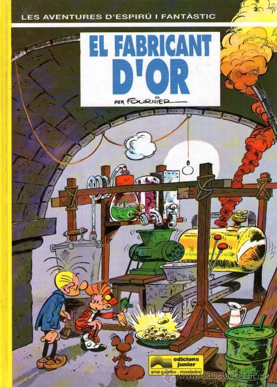 SPIRÚ Y FANTÀSTIC - Nº 33 - EN CATALÁN - EL FABRICANT D'OR - ED.GRIJALBO 1993 -TAPA DURA- COMO NUEVO (Tebeos y Comics - Grijalbo - Spirou)