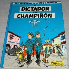 Cómics: SPIROU Y FANTASIO Nº 6 EL DICTADOR Y EL CHAMPIÑÓN. GRIJALBO 1986. DIFÍCIL Y BUEN ESTADO.. Lote 28995471