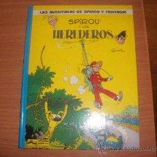 Cómics: LAS AVENTURAS DE SPIROU Y FANTASIO Nº 2 LOS HEREDEROS EDICIONES JUNIOR GRIJALBO. Lote 29658693