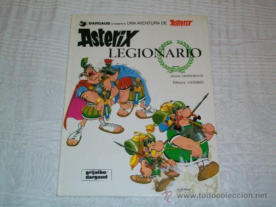 ASTERIX LEGIONARIO - ED. GRIJALBO DARGAUD - UDERZO / GOSCINNY (Tebeos y Comics - Grijalbo - Asterix)