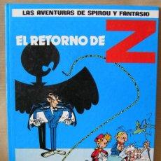 Cómics: LAS AVENTURAS DE SPIROU Y FANTASIO Nº 18 – EL RETORNO DE Z – AÑO 1987 JUNIOR. Lote 29318181