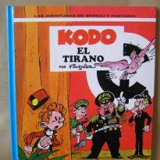 Cómics: LAS AVENTURAS DE SPIROU Y FANTASIO Nº 40 – KODO EL TIRANO – AÑO 1995 JUNIOR – MUY BUEN ESTADO. Lote 29318202