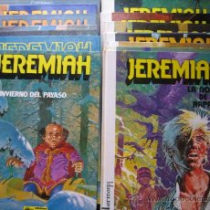 Cómics: JEREMIAH DE HERMANN COMPLETA. Lote 29362317