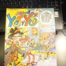 Cómics: YO Y YO - Nº 3 - EDICIONES JUNIOR / GRIJALBO MORTADELO RAF LUCKY LUKE IZNOGUD C24. Lote 29442672