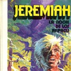 Cómics: JEREMIAH Nº 1 - LA NOCHE DE LOS RAPACES - GRIJALBO 1980 - TAPAS DURAS. Lote 29558892