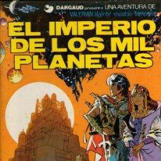 Cómics: VALERIAN - Nº 1 - EL IMPERIO DE LOS MIL PLANETAS - MEZIERES Y CHRISTIN - TAPA DURA - GRIJALBO 1980.. Lote 29626281