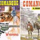 Cómics: COMANCHE POR HERMANN Y GREG. LOS LOBOS DE WYOMING Y EL DESIERTO SIN LUZ (NUMEROS 3 Y 5). Lote 29740009