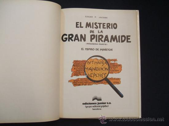 Cómics: LAS AVENTURAS DE BLAKE Y MORTIMER - EL MISTERIO DE LA GRAN PIRAMIDE - PRIMERA PARTE - EDIC. JUNIOR - - Foto 3 - 29751709
