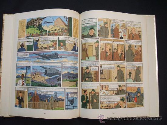 Cómics: LAS AVENTURAS DE BLAKE Y MORTIMER - EL MISTERIO DE LA GRAN PIRAMIDE - PRIMERA PARTE - EDIC. JUNIOR - - Foto 8 - 29751709