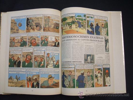 Cómics: LAS AVENTURAS DE BLAKE Y MORTIMER - EL MISTERIO DE LA GRAN PIRAMIDE - PRIMERA PARTE - EDIC. JUNIOR - - Foto 9 - 29751709