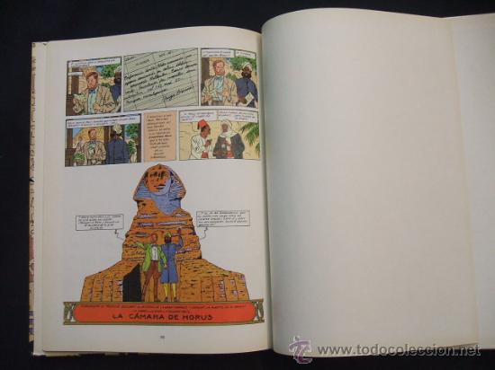 Cómics: LAS AVENTURAS DE BLAKE Y MORTIMER - EL MISTERIO DE LA GRAN PIRAMIDE - PRIMERA PARTE - EDIC. JUNIOR - - Foto 10 - 29751709