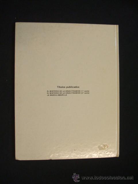 Cómics: LAS AVENTURAS DE BLAKE Y MORTIMER - EL MISTERIO DE LA GRAN PIRAMIDE - PRIMERA PARTE - EDIC. JUNIOR - - Foto 11 - 29751709