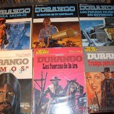 Fumetti: DURANGO - YVES SWOLFS - 6 TOMOS GRIJALBO Y METAL HURLANT. Lote 29957310