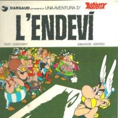 Cómics: ASTERIX,EN CATALÀ, L'ENDEVÍ. Lote 33340319