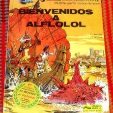 Cómics: VALERIAN Nº 3 BIENVENIDOS A ALFLOLOL GRIJALBO 1978. Lote 30049204