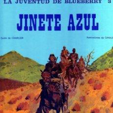 Cómics: LA JUVENTUD DE BLUEBERRY 3 - JINETE AZUL (CHARLIER-GIRAUD). Lote 30164410