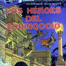 Cómics: VALERIAN AGENTE ESPACIO-TEMPORAL: LOS HÉROES DEL EQUINOCCIO (TOMO NÚMERO 7). Lote 30191049