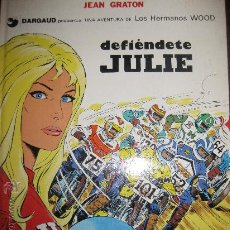 Cómics: LOS HERMANOS WOOD. JEAN GRATON. DARGAUD. EDICIONES JUNIOR 1976.. Lote 30371123