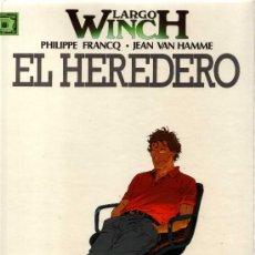 Cómics: LARGO WINCH (PHILIPPE FRANCQ - JEAN VAN HAMME) NÚMERO 1: EL HEREDERO. GRIJALBO. Lote 30393649