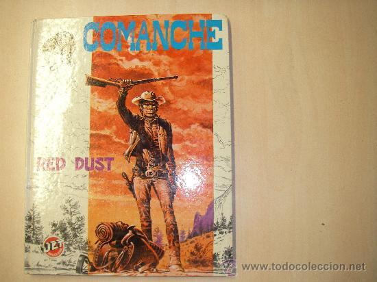 COMANCHE. RED DUST. TAPA DURA. JET BRUGUERA. (Tebeos y Comics - Grijalbo - Comanche)