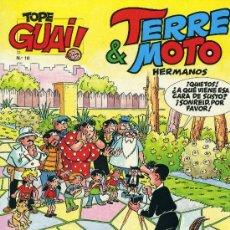 Cómics: TERRE&MOTO, HERMANOS (ESCOBAR, EL AUTOR DE ZIPI Y ZAPE). COLECCIÓN TOPE GUAY 10. Lote 30680610