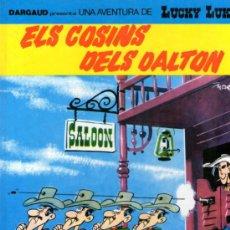 Cómics: LUCKY LUKE - EN CATALÁN - Nº 48 - ELS COSINS DELS DALTON - EDITORIAL GRIJALBO - 1992 - COMO NUEVO.. Lote 30733630