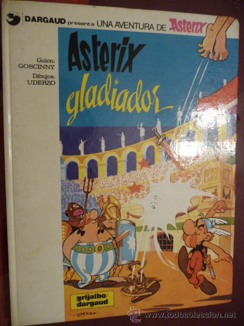 ASTERIX GLADIADOR. GRIJALBO (Tebeos y Comics - Grijalbo - Asterix)