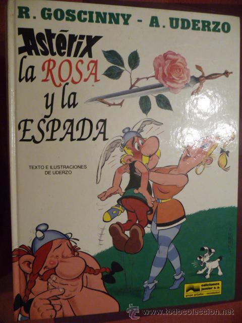 ASTÉRIX. LA ROSA Y LA ESPADA. GRIJALBO (Tebeos y Comics - Grijalbo - Asterix)