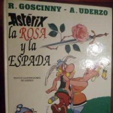 Cómics: ASTÉRIX. LA ROSA Y LA ESPADA. GRIJALBO. Lote 30780577