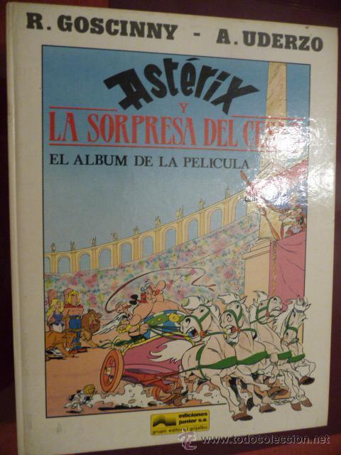 ASTÉRIX Y LA SORPRESA DEL CÉSAR. GRIJALBO (Tebeos y Comics - Grijalbo - Asterix)