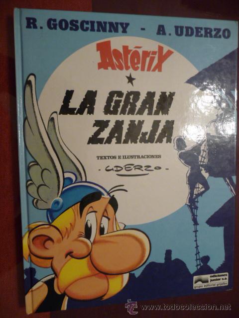 ASTÉRIX LA GRAN ZANJA. GRIJALBO (Tebeos y Comics - Grijalbo - Asterix)