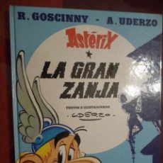 Cómics: ASTÉRIX LA GRAN ZANJA. GRIJALBO. Lote 30780603