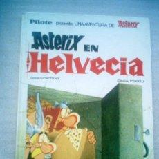 Cómics: ASTERIX EN HELVECIA / BRUGUERA 1971 SIN NUMERO EN LOMO. Lote 30764769