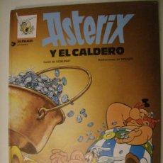 Cómics: ASTÉRIX Nº 13. ASTÉRIX Y EL CALDERO. GRIJALBO, 1991. CARTONÉ.. Lote 30826021