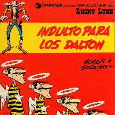 Comics: LUCKY LUKE Nº 13 - INDULTO PARA LOS DALTON - GRIJALBO 1980. Lote 30783458
