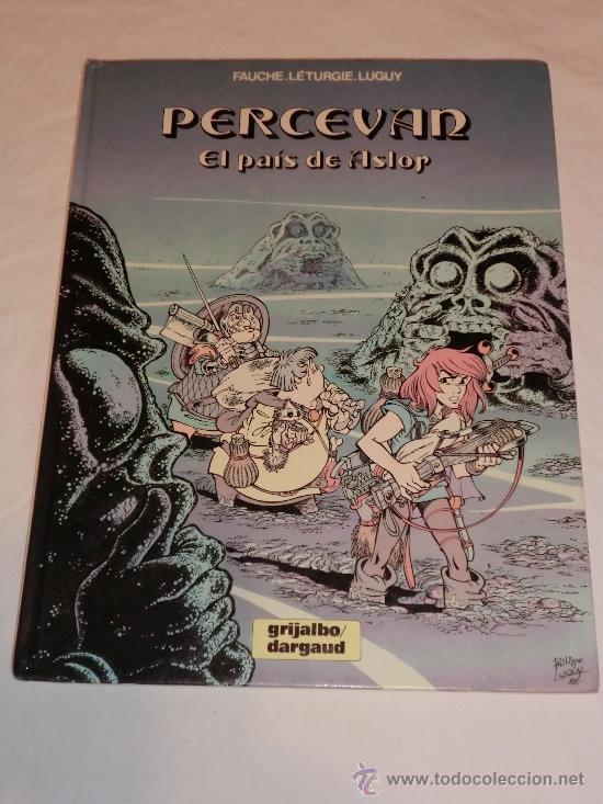 PERCEVAN Nº4 - EL PAIS DE ASLOP - GRIJALBO - DARGAUD (Tebeos y Comics - Grijalbo - Percevan)