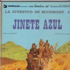 Cómics: EL TENIENTE BLUEBERRY Nº 14. LA JUVENTUD DE BLUEBERRY 3. TAPA DURA. 1981.. Lote 30944272