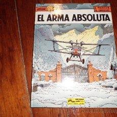 Cómics: LEFRANC Nº 8 EL ARMA ABSOLUTA JAQUES MARTIN. Lote 31126079