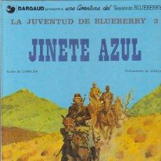 Cómics: COMIC TENIENTE BLUEBERRY LA JUVENUD DE BLUEBERRY 3 JINETE AZUL. Lote 31171595