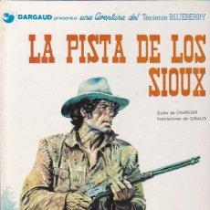 Cómics: COMIC TENIENTE BLUEBERRY LA PISTA DE LOS SIOUX . Lote 31171688